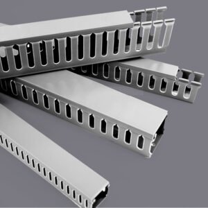 Economical PVC Slotted Wall Wiring Ducts | Electrical Ducting | Cable Ducts | Giantlok